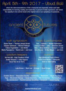 New Earth Festival- Ubud Bali